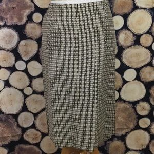 J. Crew pencil skirt - great for spring and summer